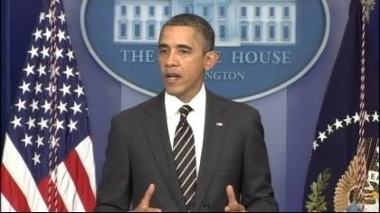 President Obama gives sort of a preview of next week's State Of The Union Address.