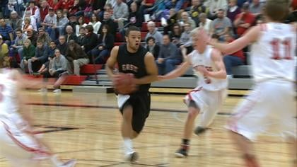 Marcel Dunson had 26 points in Sioux City East's 62-55 win at Le Mars on Thursday.