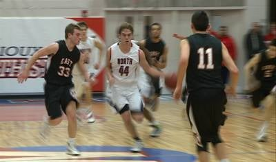 Daniel Tillo led Sioux City North to a 79-52 win over previously undefeated East on Friday night.