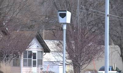 One of the traffic cameras that sits along busy Gordon Drive, near S. Fairmount.