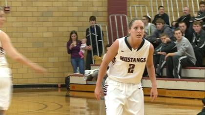 Chelsie Trask scored 35 in Morningside's win over Hastings.
