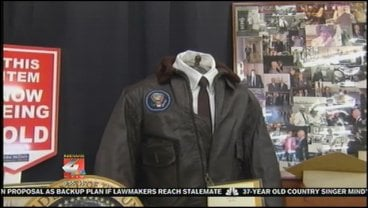 A bidder paid $629,000 for the jacket.