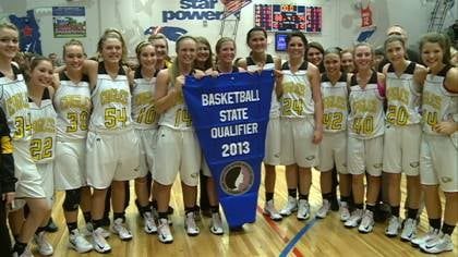 Lawton-Bronson qualified for the girls state basketball tournament with an 88-79 win over Hinton.