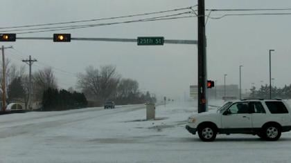 Nebraska State Patrol Capt. Paul Hattan warns when the weather is questionable, don't travel unless it's an absolute emergency.