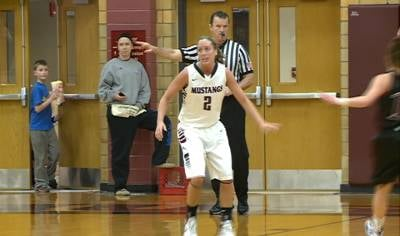 Chelsie Trask helped top-seeded Morningside beat Hastings, 66-44, on Wednesday night.