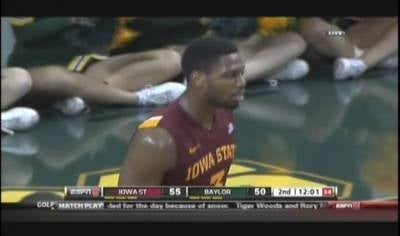 Melvin Ejim had 20 points and 12 rebounds in Iowa State's 87-82 win at Baylor on Wednesday.