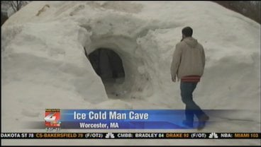 "Call it a man cave or call it ""Club Ice,"" either way, you can certainly call it big and cold."