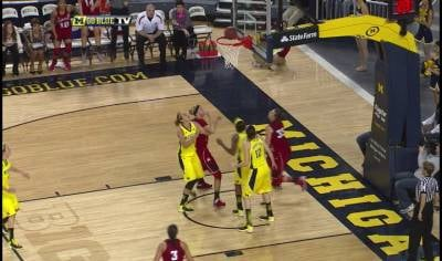 The Nebraska women's basketball team opened the second half on a 21-0 run and beat Michigan 57-39.