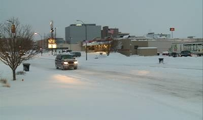 Downtown Sioux City on Friday.