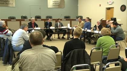 Lawmakers meet with local school leaders in Sioux City to discuss education reform.