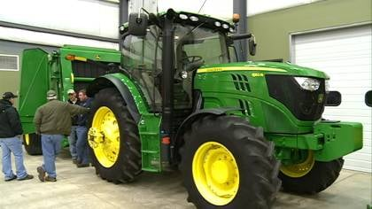 By 2014, the EPA will require all tractors to be 99 percent efficient in emissions.