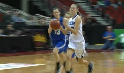 Second-ranked Newell-Fonda beat Villisca, 75-28, at the girls state tournament on Monday.