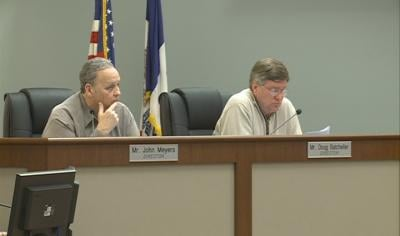 Sioux City school board members go over potential effects of federal sequestration.