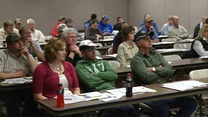 """© """"It is to help producers keep up to date with what's going on, not only the markets, but new technology,"""" said Iowa State University Swine Specialist David Stender."""