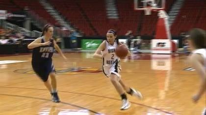 Cedar Rapids Xavier knocked off top-ranked Bishop Heelan 68-57 to advance to the Class 4A championship game.