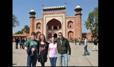 These four Siouxland students spent 10 days in India for a design competition.