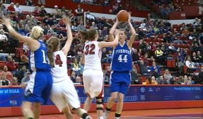 Pierce beat top-seeded Chadron, 52-34, on Friday in the Class C1 state tournament.