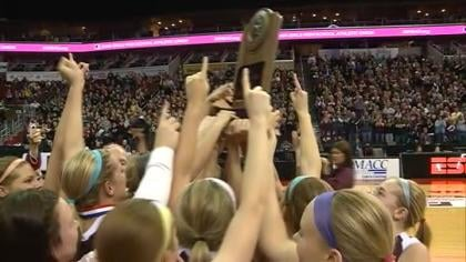 Top-ranked Western Christian beat # 2 Lawton-Bronson 75-58 to repeat as state champions.