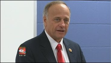 Rep. Steve King says he hopes to make a decision on running for Senate in the next few weeks.