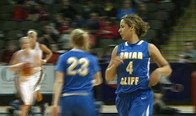 Kelsey Evans had 18 points in Briar Cliff's 94-77 win over Siena Heights on Thursday.