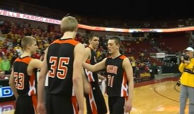 Sheldon going to the Class 2A championship game after a 48-42 win over Kuemper on Thursday.