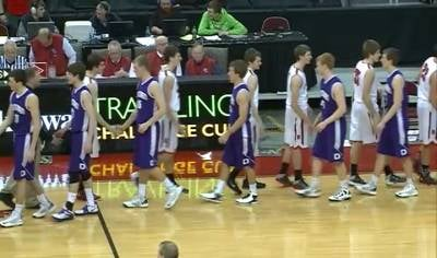 MOC-Floyd Valley was beaten by unranked Harlan, 45-42, in the Class 3A semifinals.