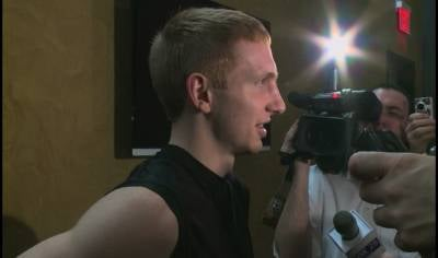 After missing four games with a foot injury, Iowa's Mike Gesell hopes to play on Thursday.