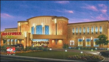 A proposed rendering of Penn National Gaming's Hollywood Casino.