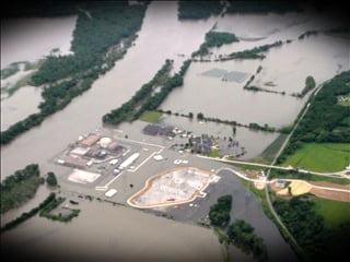 File image of the Fort Calhoun nuclear plant near Blair, Nebraska during the Missouri River flood of 2011