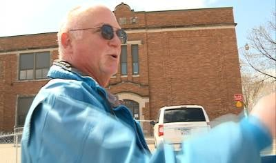Custodian recalls favorite memories as elementary school faces demolition.