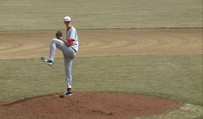 Tyler Stuerman from Northwestern was selected as the GPAC Pitcher of the Year.
