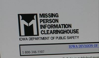 The Iowa Department of Public Safety's Missing Person's Bulletin includes more than 300 names of people considered missing in the state.