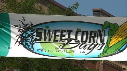 Sweet Corn Days starts Aug. 1 in Estherville, Iowa.