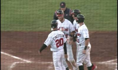 Ronnie Bourquin hit a grand slam in Fargo-Moorhead's 11-9 win over Sioux City on Saturday.