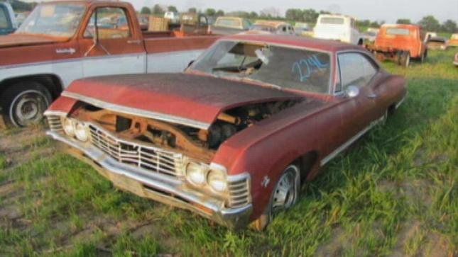 You have a second chance at some of the clunkers and rare survivor cars.