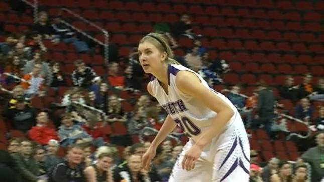 Alexis Conaway had 21 points and 10 rebounds in MOC-FV's 69-42 win over Center Point-Urbana on Tuesday.