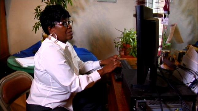 One woman turned out to be the victim of a work from home scam.
