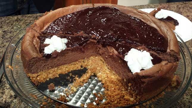 Chocolate Lover's Dream Cheesecake