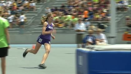 MOC-Floyd Valley's Alexis Conaway won the Drake Relays high jump title on Thursday.