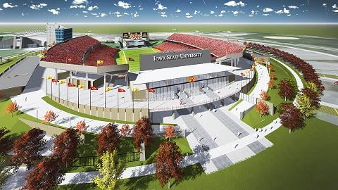 ISU has released new sketches for their stadium expansion project.