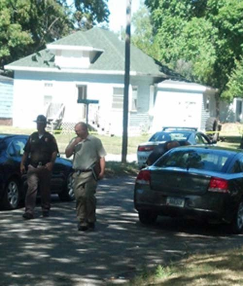 Authorities are still on the scene of last night's standoff, which ended 5:30 Friday morning.