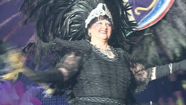 The theme for the costumes at this year's Mardi Gras gala was things that go well together.