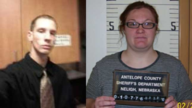 Benjamin Johnson, 27 and Rebecca Robbins, 22.