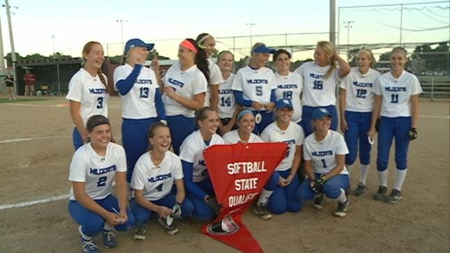 Woodbury Central earned a trip to the state softball tournament with a 4-2 win over South O'Brien on Monday.