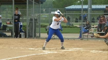 Woodbury Central lost to Earlham, 3-2, in the Class 2A softball semifinals on Thursday.