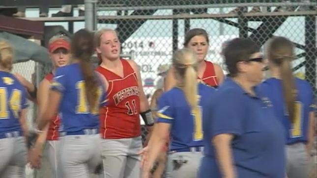 Akron-Westfield beat Martensdale-St. Marys, 3-2, in the Class 1A softball semifinals on Thursday.