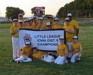 The Headid Little League All-Stars of Sioux City are in the state finals.