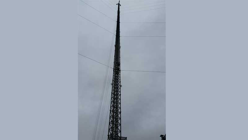 Picture of KTIV's Tower on Sunday November 8.