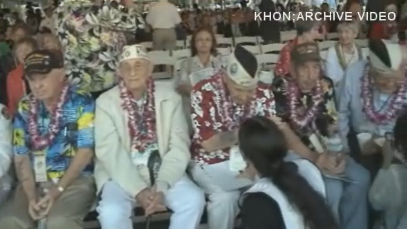 """Survivors gather to """"Preserve the Memory"""" of the attack on Pearl Harbor 73 years ago."""