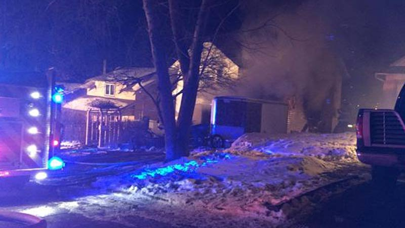 Fire crews responded to a fire at 2200 Kennedy Drive in Sioux City.